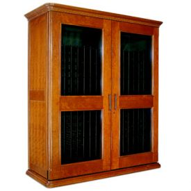 Enlarge Le Cache European Country Euro 5200 622-Bottle Wine Cellar - Provincial Cherry Finish