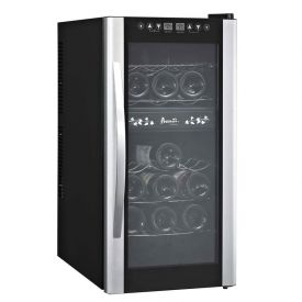 Enlarge Avanti EWC1801DZ 18-Bottle Thermoelectric Dual Zone Wine Cooler