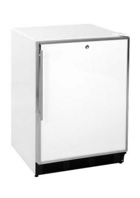 Enlarge Summit BI540L 5.3 cf Built-in Refrigerator-Freezer with Lock - White