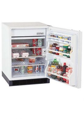 Enlarge Summit BI605FF 6.0 cf Built-in Auto Defrost Refrigerator-Freezer - White