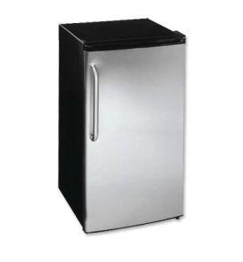 Enlarge Summit FF43ESSSTB Black 3.6 cf Refrigerator - SS Door/Towel Bar Handle
