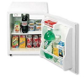 Enlarge Summit S19L 1.7 Cu. Ft. White Compact Refrigerator w/ Lock
