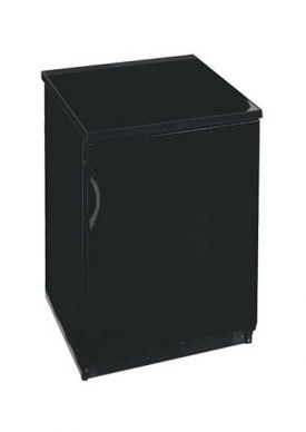 Enlarge Summit SCFF55B 5.0 cf Commercial Frost-Free Upright Freezer - Black