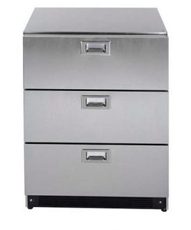 Enlarge Summit SP6DS Stainless Steel 3-Drawer Refrigerator