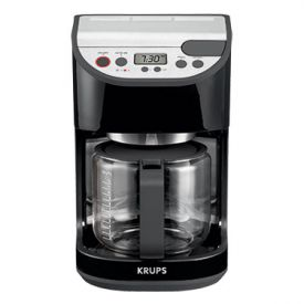 Enlarge Krups KM4055002 12-Cup Programmable Coffeemaker Black