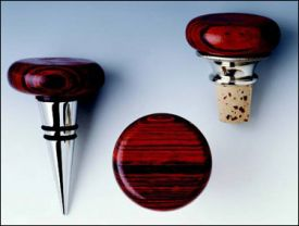 Enlarge Rosewood Flat-top Cone Stopper