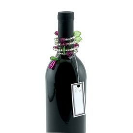 Enlarge Grape Swirl Wine Bottle Jewelry