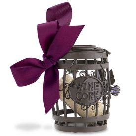 Enlarge 02-129 Wine Barrel Cork Cage Ornament