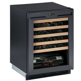 Enlarge U-Line 1175WCB-00 1000 Series Wine Captain 48 Bottle Wine Cellar - Black