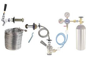 Enlarge Build Your Own 120' Coil Jockey Box Conversion Kit - Right Faucet Mount