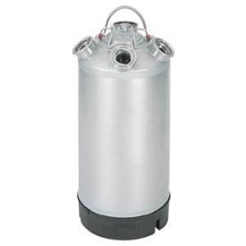 Enlarge 18 Litre Keg Beer Cleaning Can (complete with any four valves installed)