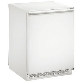 Enlarge U-Line 2175RFW-00 2000 Series Frost-Free Refrigerator / Freezer - White Cabinet with White Door