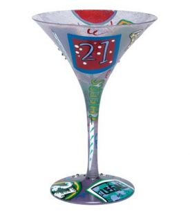 Enlarge 21 Martini Glass by Lolita Love my Martini