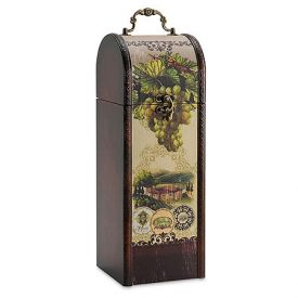 Enlarge Rustic Vineyard Designer Wine Box