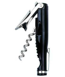Enlarge Wine Bottle Waiter's Corkscrew - Black