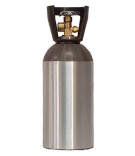 Enlarge 33 Cu. Ft. Nitrogen Air Tank - High Pressure Aluminum Gas Cylinder