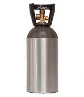 Enlarge 33 Cu. Ft. Nitrogen Air Tank - High Pressure Aluminum Gas Cylinder