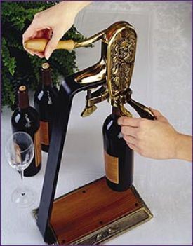 Enlarge Le Grape Uncorking Machine and Table Stand