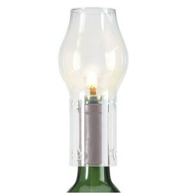 Enlarge Glass Chimney for Bottle Candles