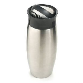Enlarge Metrokane 4700 Flip-Top Cocktail Shaker w/ Built-In Strainer, 0.7 L