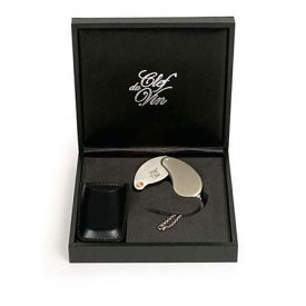 Enlarge Peugeot's Clef du Vin Wine Ager in Black Gift Case