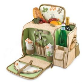 Enlarge Picnic Time Malibu Botanica Insulated Picnic Cooler Tote