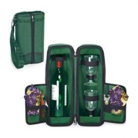Enlarge Estate One Bottle Deluxe Wine Tote -