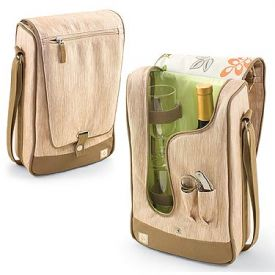 Enlarge Barossa Botanica Single Bottle Wine Tote Service for Two