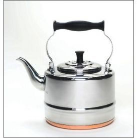 Enlarge BonJour 53087 2 Quart Stainless Steel Teakettle with Copper Bottom