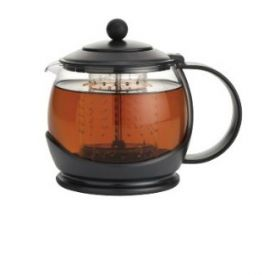 Enlarge BonJour 53108 Prosperity Tea Pot with Poly Carbonate Shut Off Infuser