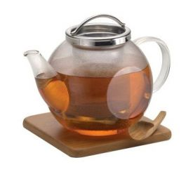 Enlarge BonJour 53406 Harmony Glass Teapot - 35 oz.