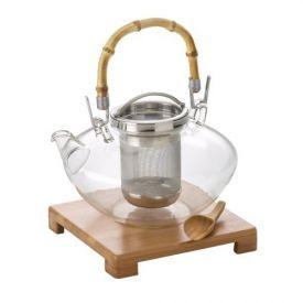 Enlarge BonJour 53408 Zen Glass Teapot - 42 oz.