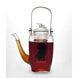 Enlarge BonJour 53751 Simone 27-oz. Glass Teapot with Glass Infuser
