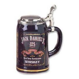 Enlarge Jack Daniel's Stoneware Beer Stein with Lid