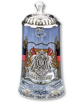 Enlarge Germany Glass Beer Stein