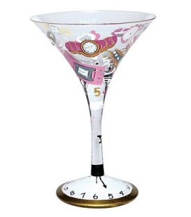 Enlarge 5 O'Clock Somewhere Martini Glass by Lolita Love My Martini Collection