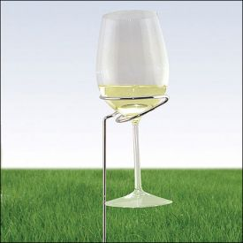 Enlarge Outdoor Wine Glass Stand - 2 Pack
