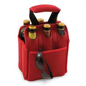 Enlarge Insulated Six Pack - Red