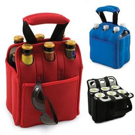Enlarge Insulated Six Pack - Blue