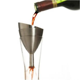 Enlarge Metrokane 6118 Rabbit Wine Shower Decanter Funnel
