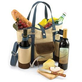 Enlarge Picnic Time Wine Country Tote