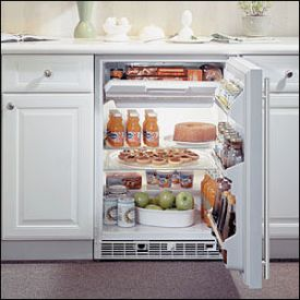 Enlarge Marvel 61RF-WS-F-R - White Cabinet with Stainless Steel Door