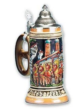 Enlarge Oktoberfest Beerwagon Beer Stein