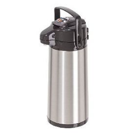 Enlarge Oggi 6541.0 Lever Pumpmaster Stainless Steel 1.9-Liter Thermal Coffee Carafe