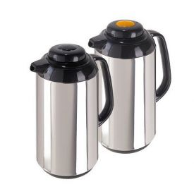 Enlarge Oggi 6558.0 Connoissuer Stainless Steel 1-Liter Coffee Carafe Set