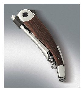 Enlarge Vacu Vin Waiter's Friend Corkscrew w/Leather Case
