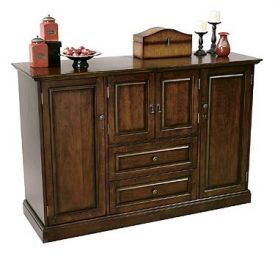 Enlarge Howard Miller 695-080 Bar Devino Hide-A-Bar Console