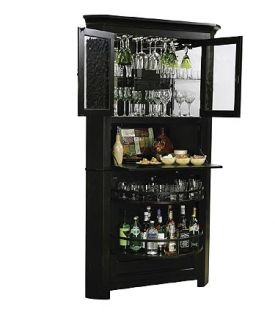 Enlarge Howard Miller 695-082 Cornerstone Estates Wine & Spirits Cabinet