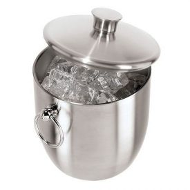 Enlarge Oggi Lustre Stainless Steel 3.5-Liter Ice Bucket