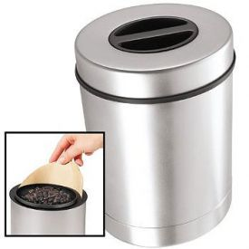 Enlarge Oggi 7088 Airtight Stainless Steel 16 oz. Coffee Canister